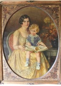 Mrs. Roy Brownell and Her Son by Douglas Chandor