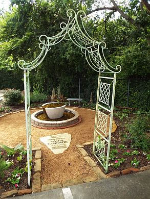 Ornamental Arch Added to Memorial Garden